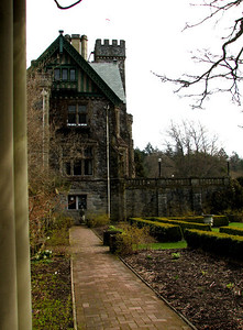 Hatley Castle garden