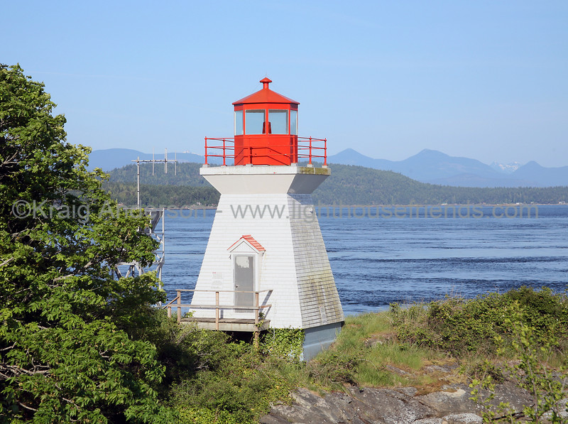 Porlier Pass Range Rear Lighthouse