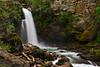 The Sutherland Falls near Revelstoke, British Columbia, Canada.