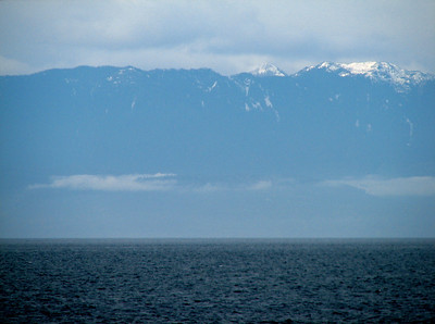 Olympic Mountains and the Straight of Juan de Fuca
