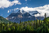 Mount Robson in Mount Robson Provincial Park, British Columbia, Canada.