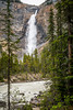 The Takakkaw Falls in Yoho National Park, British Columbia, Canada.