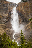 The Takakkaw Falls in Yoho National Park, British Columbia, Canada.