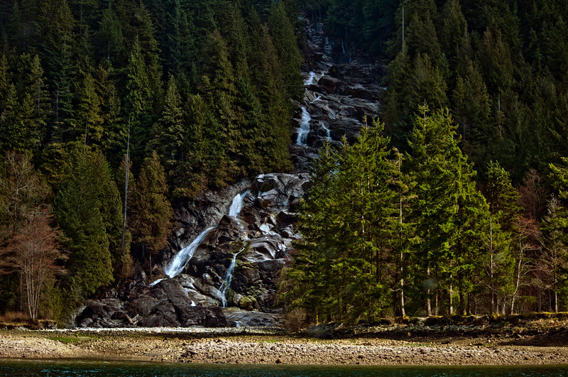Indian Arm Waterfall