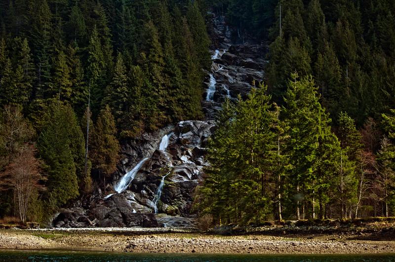 Indian Arm Waterfall