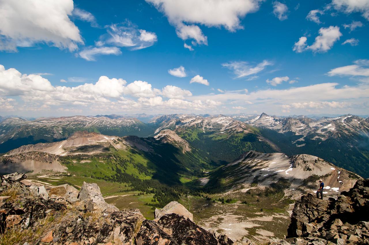 Chipmunk Peak summit