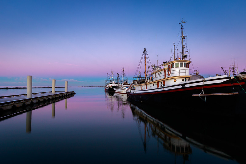 Steveston Fishing Boats