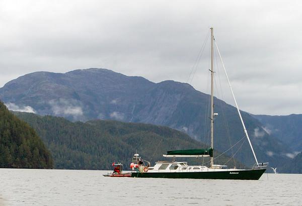 Raincoast's research vessel, Achiever