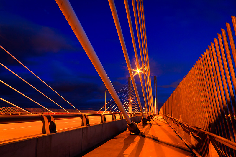 Golden Ears Bridge at Twilight
