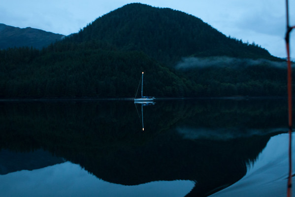 Calm waters in the Great Bear Rainforest