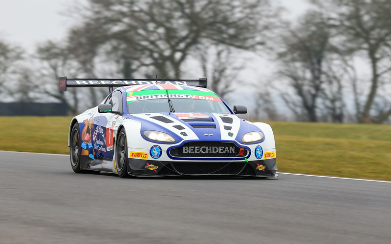 Beechdean AMR Aston MartinVantage GT3 #1 driven by Andrew Howard / Ross Gunn  during the 2016 British GT media day held at Snetterton Circuit, Norwich, Norfolk on 15 March 2016