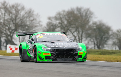 Team ABBa with Rollcentre Racing BMW Z4 GT3 #88 driven by Richard Neary / Martin Short during the 2016 British GT media day held at Snetterton Circuit, Norwich, Norfolk on 15 March 2016