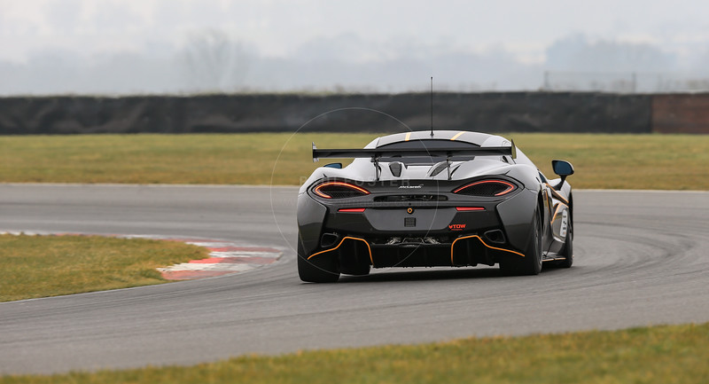 Black Bull Ecurie Ecosse McLaren 570S GT4 #59  during the 2016 British GT media day held at Snetterton Circuit, Norwich, Norfolk on 15 March 2016