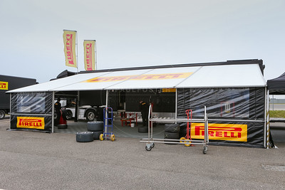 New Tyre supplier Pirelli during the 2016 British GT media day held at Snetterton Circuit, Norwich, Norfolk on 15 March 2016