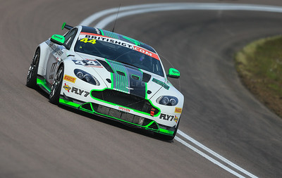 Generation AMR SuperRacing Aston Martin Vantage GT4 #44 driven by Jamie Chadwick / Matthew George during the race for round 2 of the British GT championship held at Rockingham Motor Speedway, Corby, Northamptonshire from April 30th - May 1st 2016
