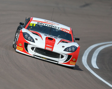 Lanan Racing Porsche Cayman GT4 Clubsport #51 driven by Joey Foster / Alex Reed during the race for round 2 of the British GT championship held at Rockingham Motor Speedway, Corby, Northamptonshire from April 30th - May 1st 2016