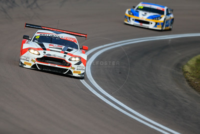 Motorbase Performance Aston Martin Vantage GT3 #8 driven by Phil Dryburgh / Ross Wylie during the race for round 2 of the British GT championship held at Rockingham Motor Speedway, Corby, Northamptonshire from April 30th - May 1st 2016
