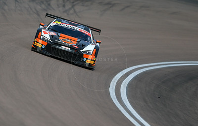 Optimum Motorsport Audi R8 LMS GT3 #14 driven by Ryan Ratcliffe / Will More during the race for round 2 of the British GT championship held at Rockingham Motor Speedway, Corby, Northamptonshire from April 30th - May 1st 2016