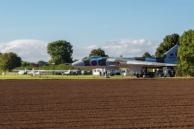 Vulcan XM655 at Wellesbourne Airfield.