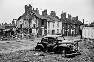 Canal Street, Derby, England, 1969