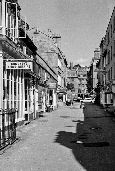 Margaret's Buildings, Bath, 1969
