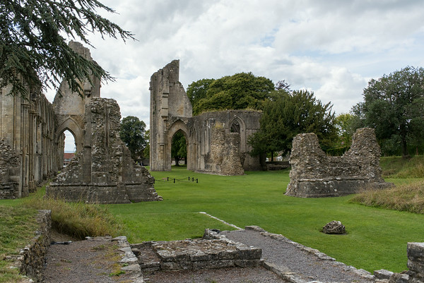 Site of Arthur's Tomb, Glastonbury Abbey