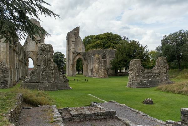 Site of Arthur's Tomb, Glastonbury Abbey