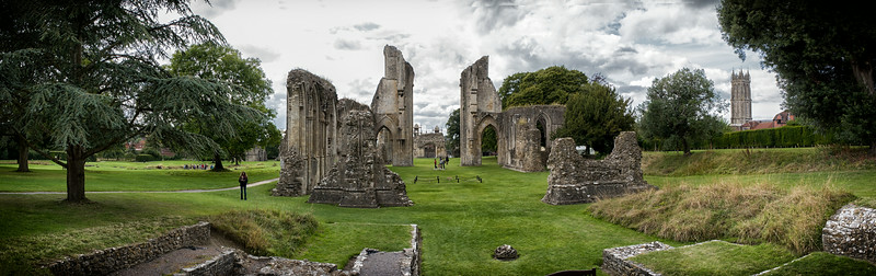 Glastonbury Abbey Panorama
