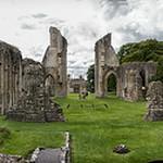 Glastonbury Abbey Panorama