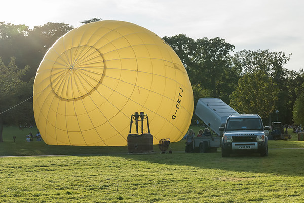 Longleat Sky Safari - Afternoon Launch