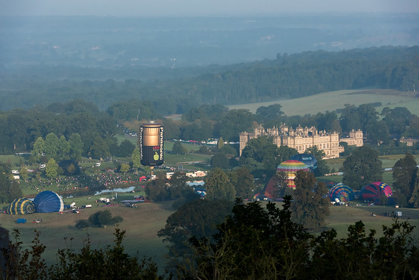 Longleat Sky Safari from Heaven's Gate