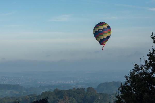 Longleat Sky Safari from Heaven's Gate