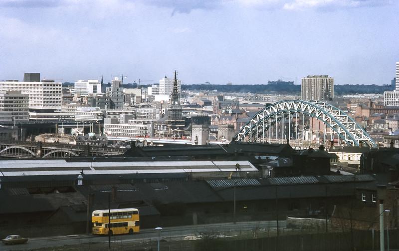 Newcastle City, March 1973