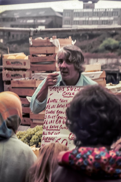 Quayside Market, August 1972
