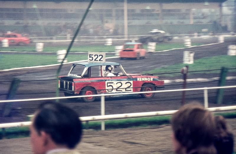 Newcastle Speedway, Byker, September 1973