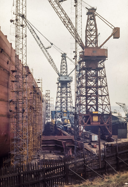 Wallsend Shipyards, March 1973