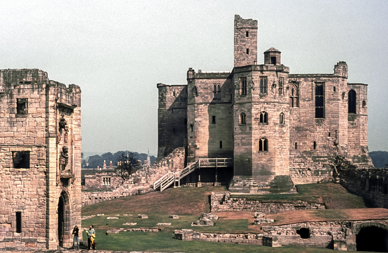 Warkworth Castle, October 1972
