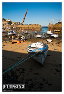 Mousehole Harbour, Cornwall (deliberately heavy on the shade contrast)