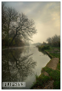 Early morning on the Grand Union Canal, Wigston