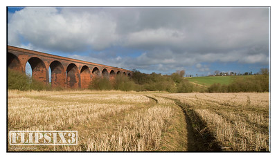 Former railway viaduct at John O'Gaunt