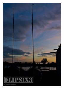 Boats at Saddington Reservoir, late evening shooting trying to make the most of the sky.