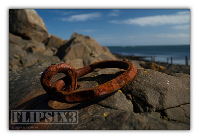 Another rusted mooring ring