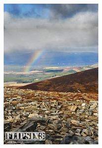 Views of/from Meall a'Bhuachaille: looking back towards Aviemore