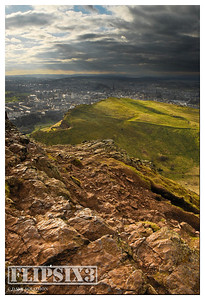 The city, from Arthur's Seat