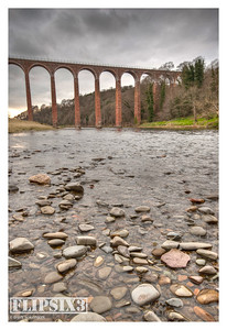Leaderfoot Viaduct, HDR blended images.