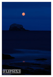 Another 'Photoshopped' night shot, again a composite of a long-exposure landscape and a separate moon shot.