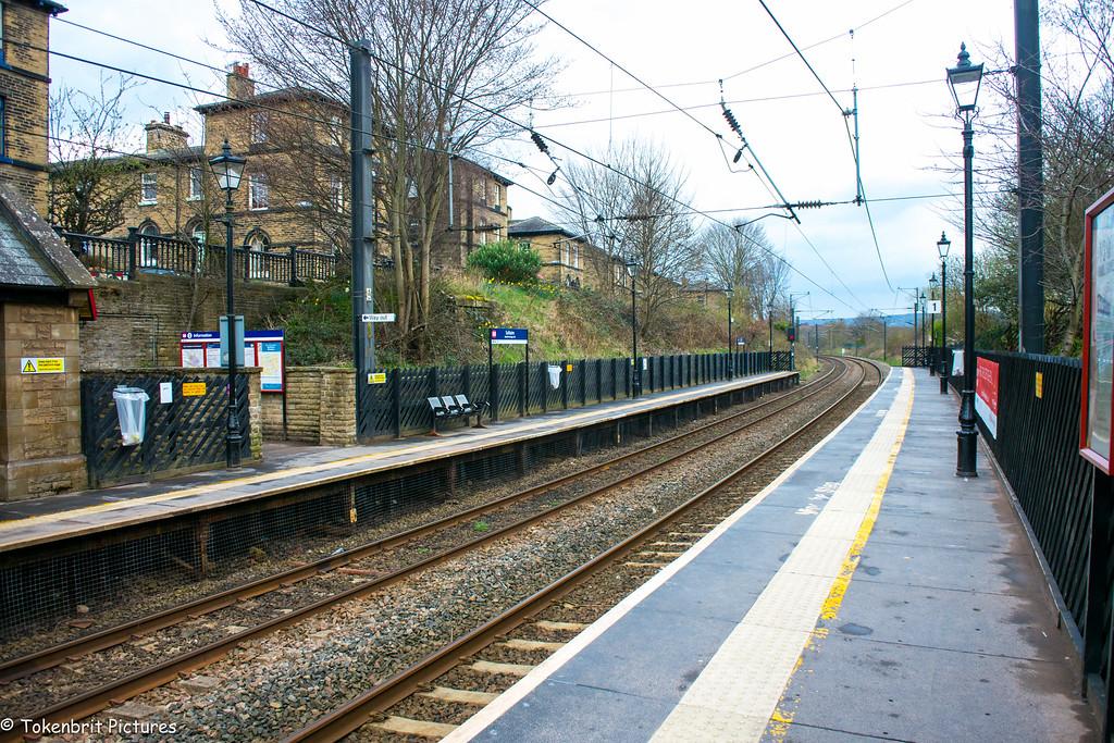 Train Station Saltaire Yorkshire LR-0643