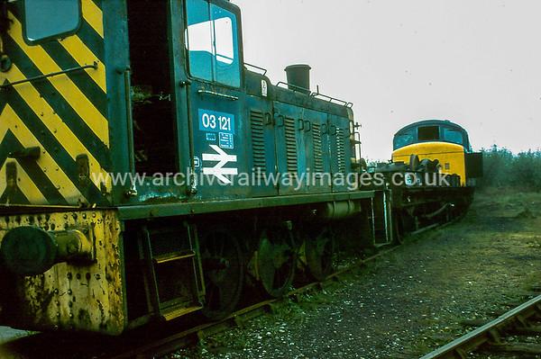 03121 3/5/84 Swindon Works  Withdrawn 05/81 BRCut-Up 09/85 Swindon Works