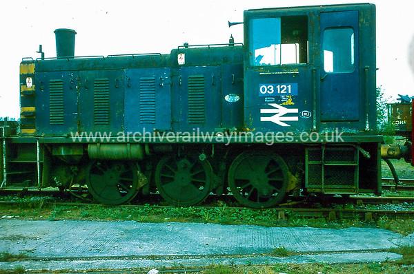 03121 3/5/84 Swindon Works