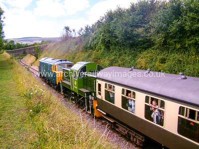 D9526 & D7017 14/8/04 Washford D9526 Withdrawn 11/68 CF	Now Preserved / Private Owner as at 15/6/17 D7017 Withdrawn 03/75 OC	Now  Preserved / Private Owner as at 15/6/17